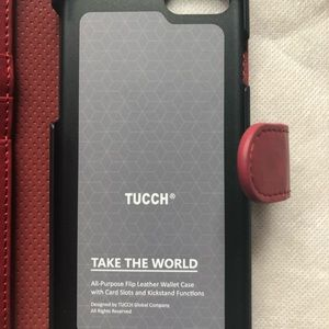tucch Accessories - ❤️tucch maroon case iPhone 6